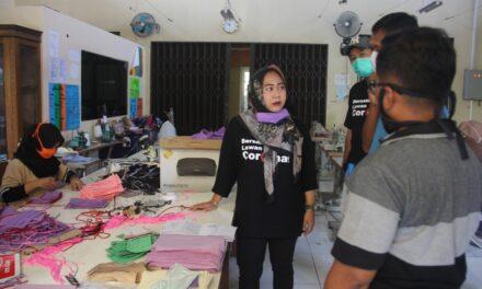 BLK Jadi Markas Relawan, Produksi Masker dan APD