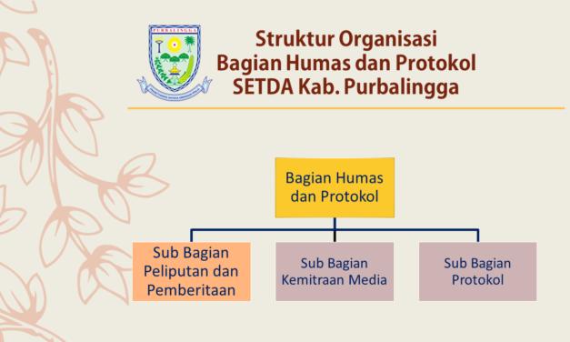 Struktur Organisasi Bagian Humas dan Protokol