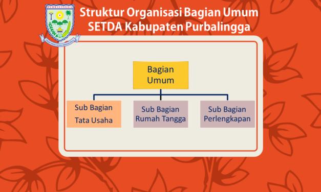 Struktur Organisasi Bagian Umum