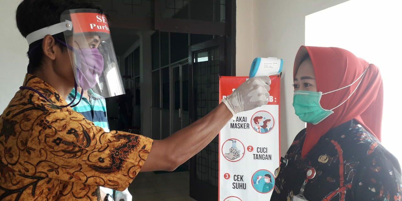 Kantor Sekretariat Daerah Kabupaten Purbalingga Terapkan Tatanan Normal Baru