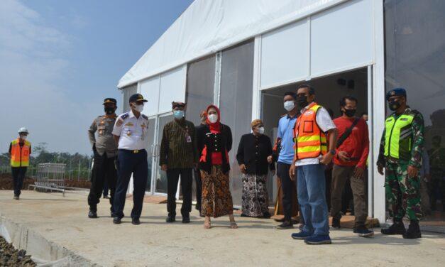 Tenda Roder Untuk Terminal Sementara Bandara JB Soedirman Selesai Terpasang